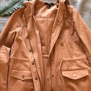 Tan/Brown Utility Jacket